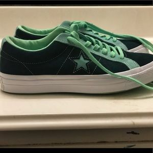 Converse 1 Star two tone Green